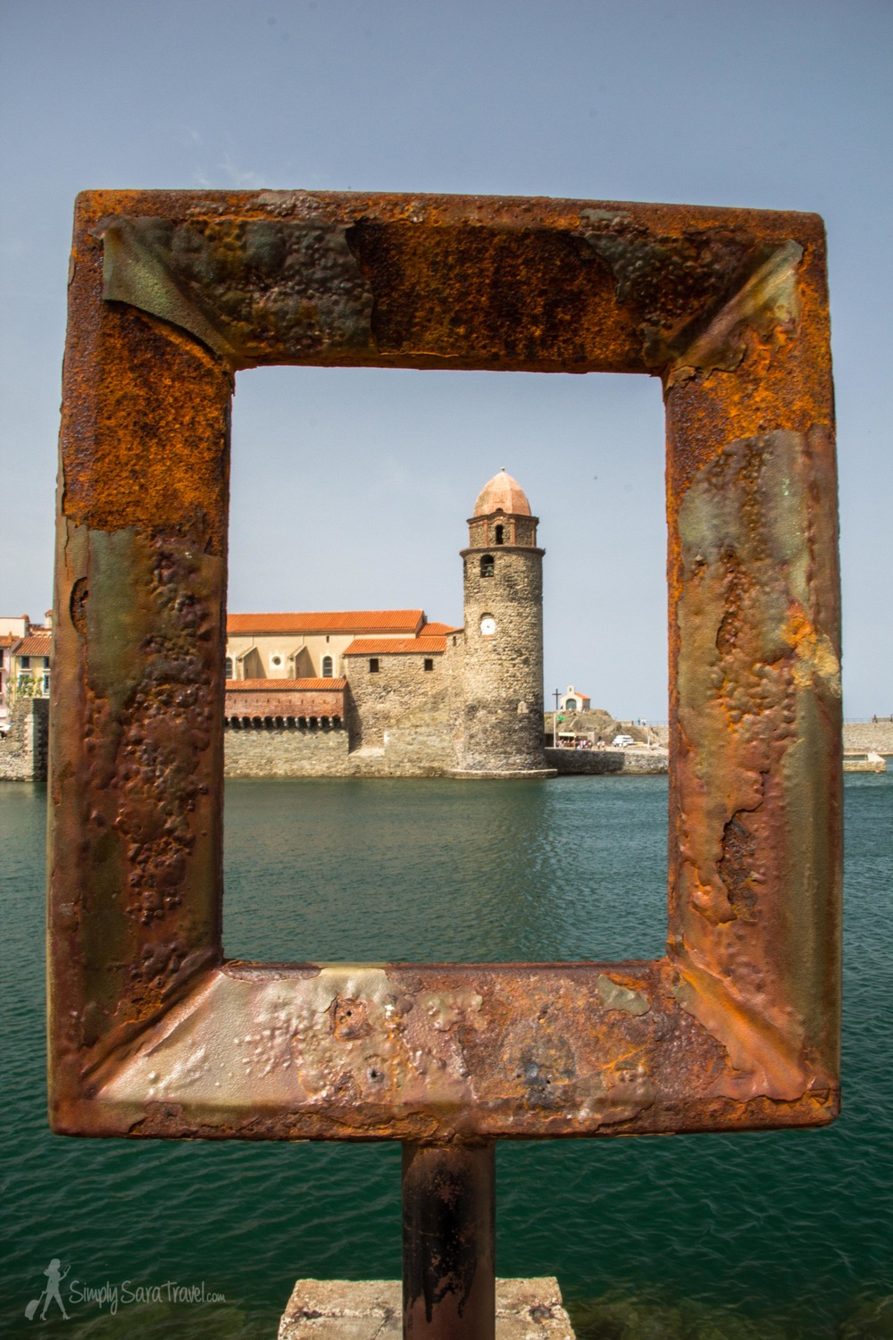 One of our day trips included exploring the beautiful town of Collioure in southern France.