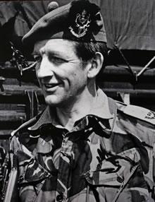 Lt Col David Blair, QO Hldrs