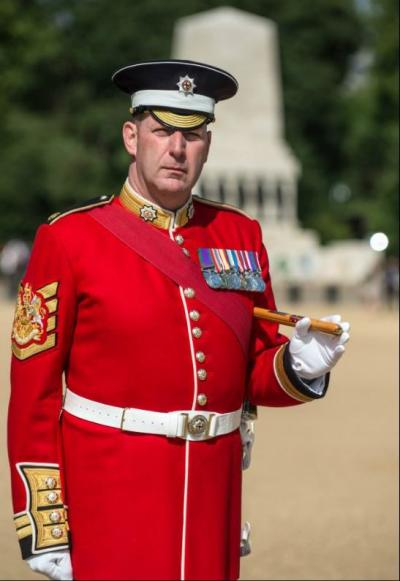 WO1 (GSM) Andrew 'Vern' Stokes, Coldstream Guards