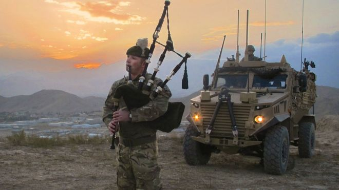 Just in case anyone has forgotten; we still have lads in Afghanistan - 2 Scots celebrate St Andrew's Day near Camp Qargha in Kabul.