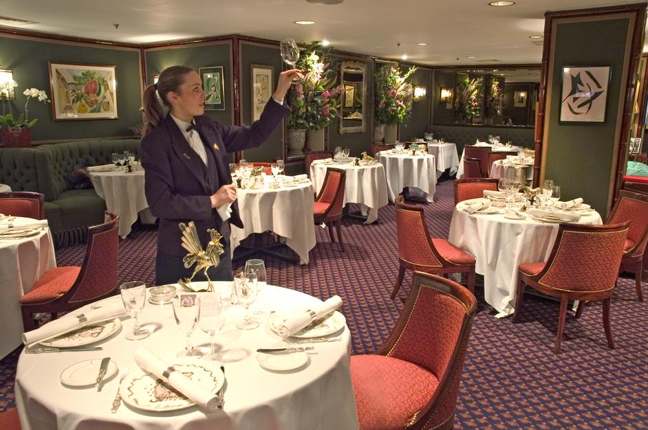 Gavroche; the high citadel of fine dining in Britain