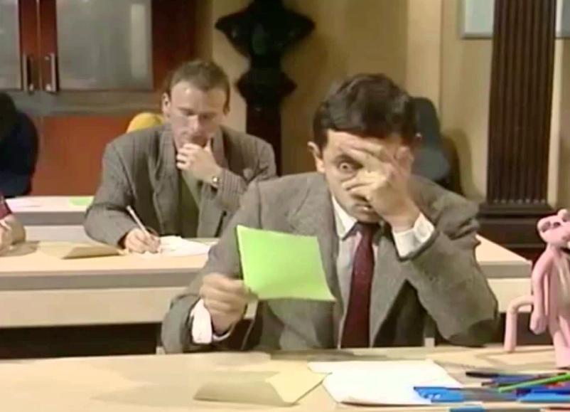 Exam time again