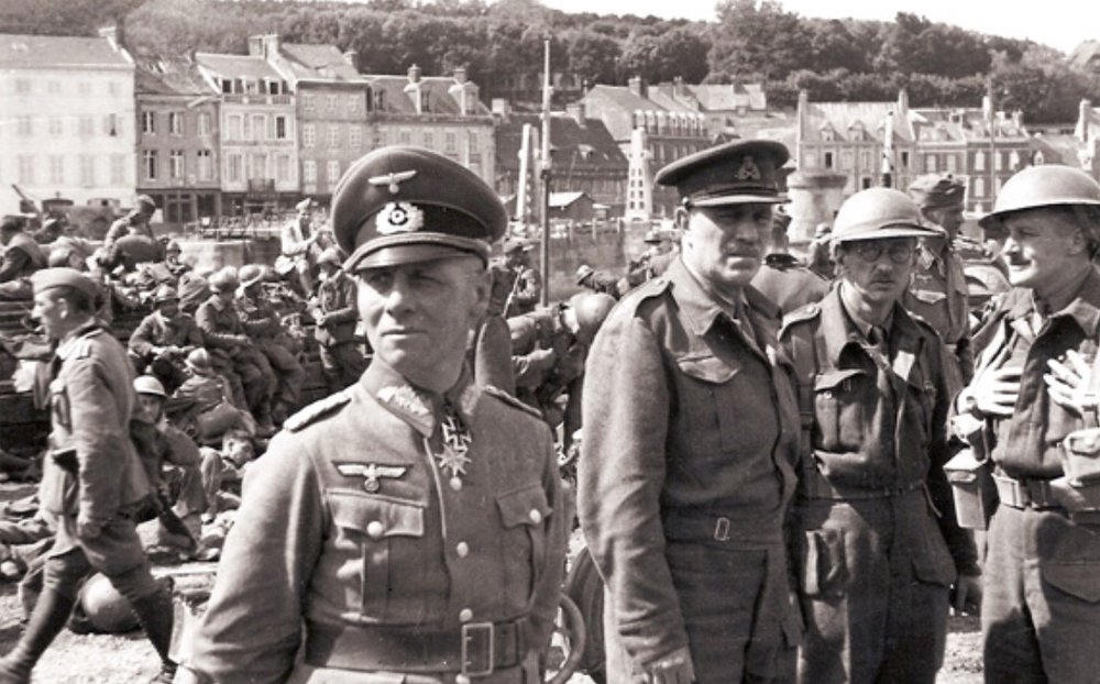 General Fortune with Erwin Rommel