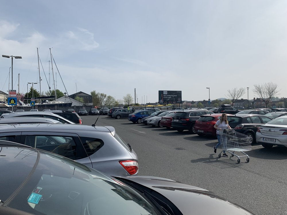 Do you suffer from 'can't find my car in the supermarket car park' syndrome? Strap a 22' yellow kayak to the roof and never be embarrassed again!