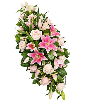 Pink Lily Double Ended Spray