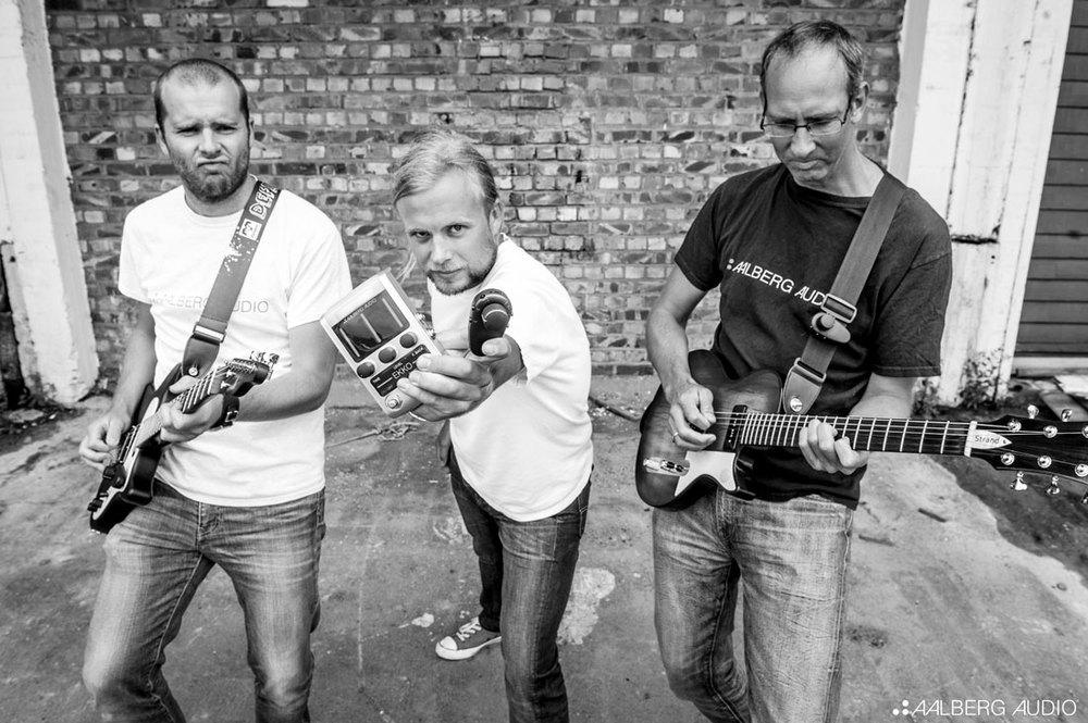 FLTR: Rune Aalberg Alstad, Aleksander Torstensen and Torkild Indstøy