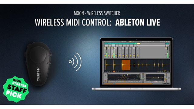 Control your @ableton wirelessly! Find out how with link in our profile... #ableton #kickstarter #gear #knowyourtone #midi #wireless