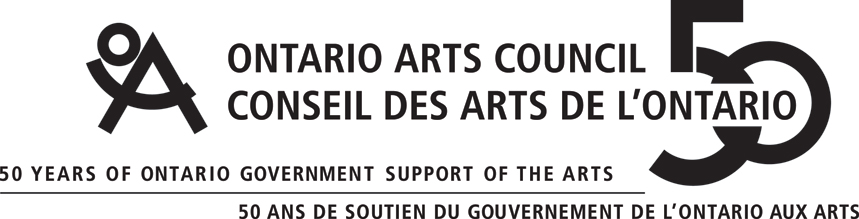 with the generous support of the Ontario Arts Council's Exhibition Assistance