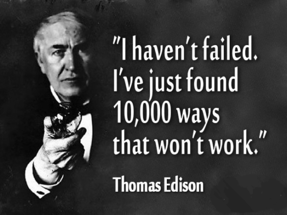 Thomas Edison growth hacking