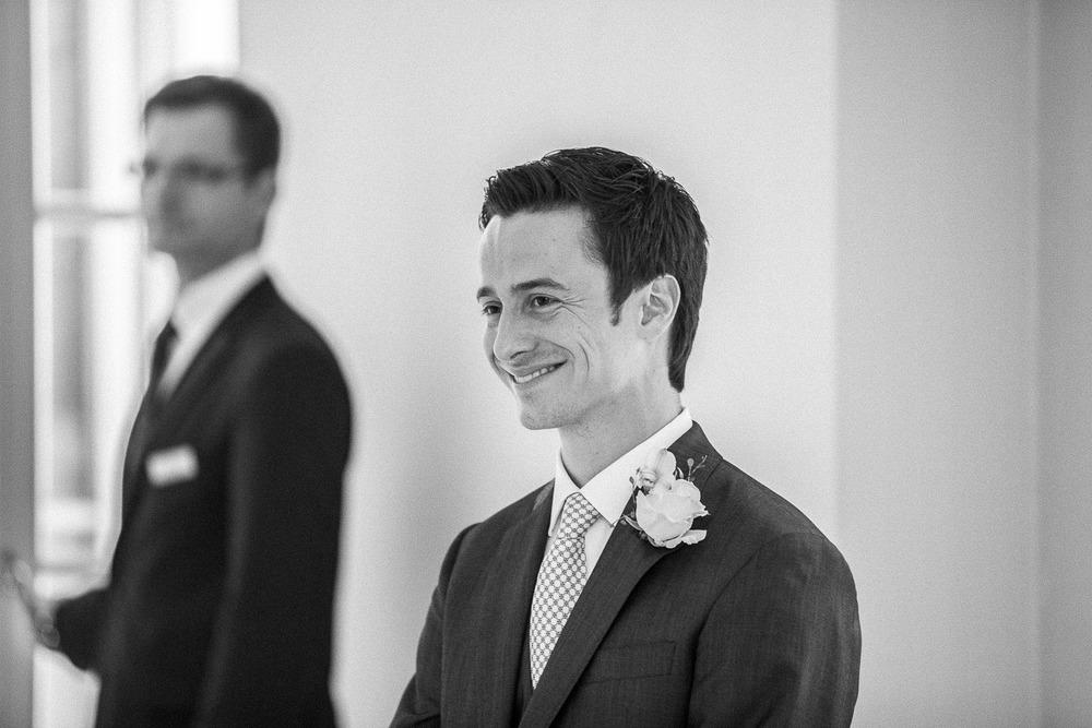 Bräutigam Terrasse Hochzeit Heiligendamm