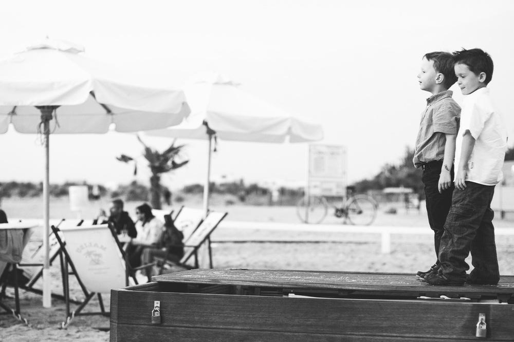 Hochzeit Jungs Strand
