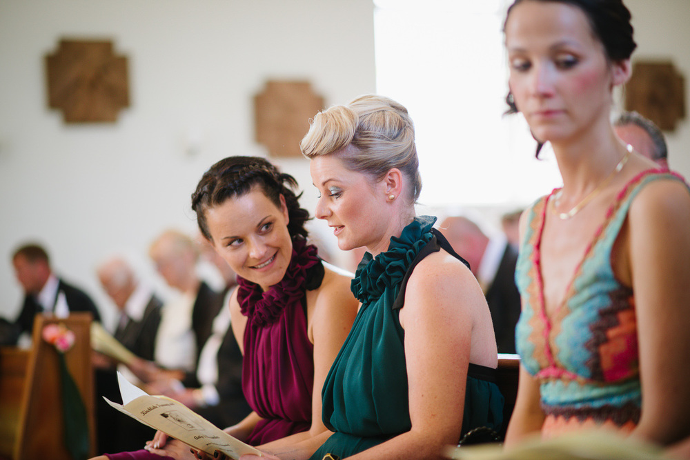 Hochzeit Brautjungfern Kirche Trauung Mecklenburg Vorpommern