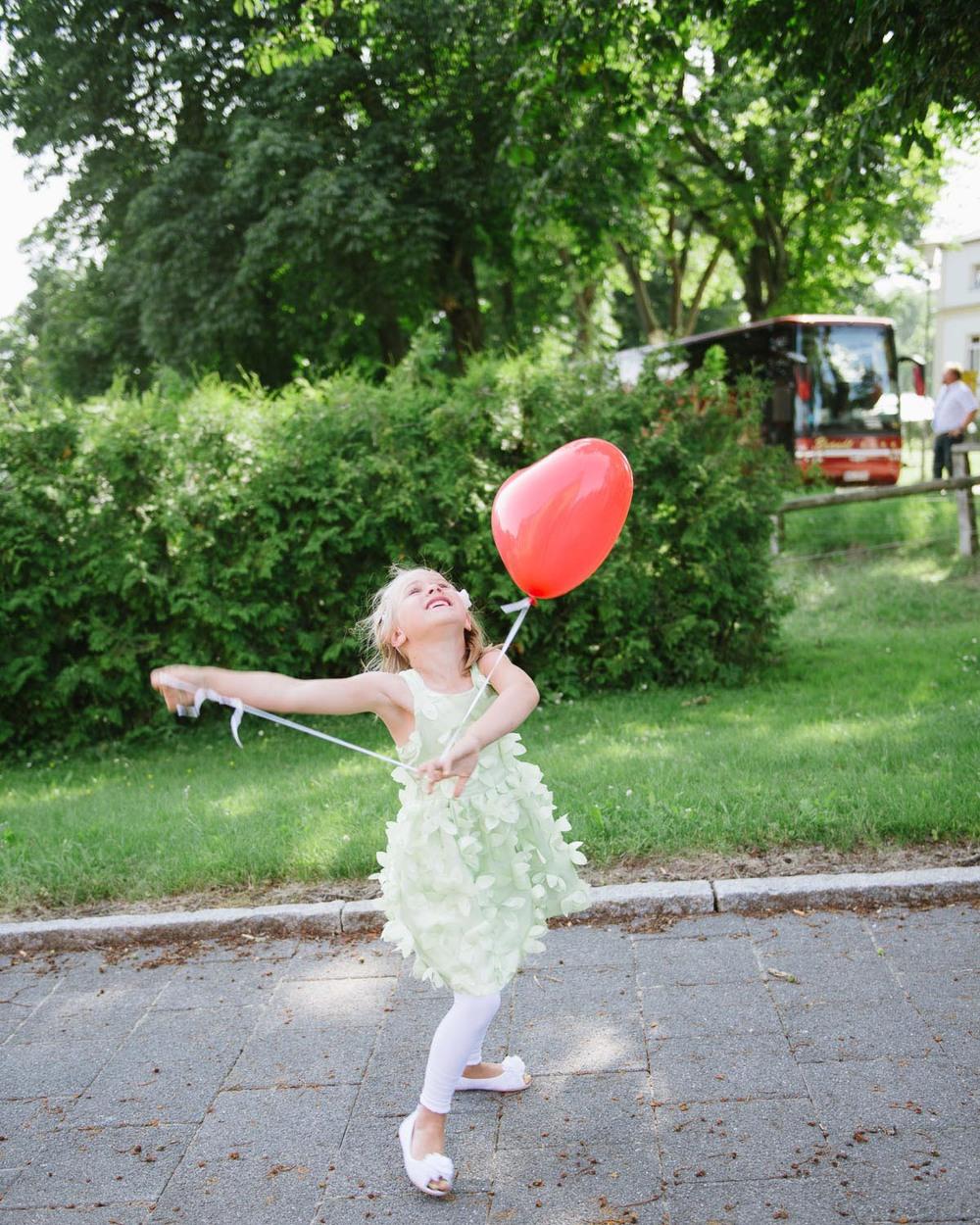 Hochzeit Kind Ballons Mecklenburg Vorpommern
