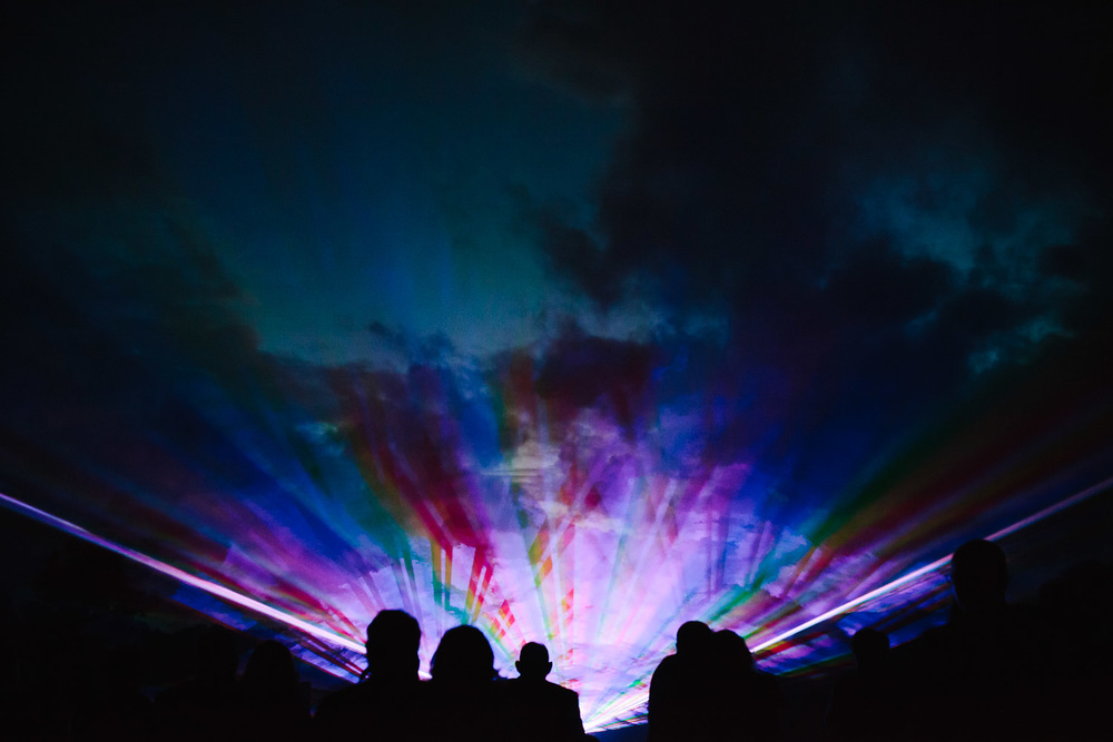 Lasershow Hochzeit Gross Siemen