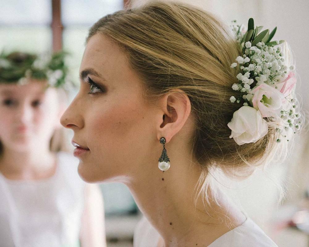 Braut im Portrait