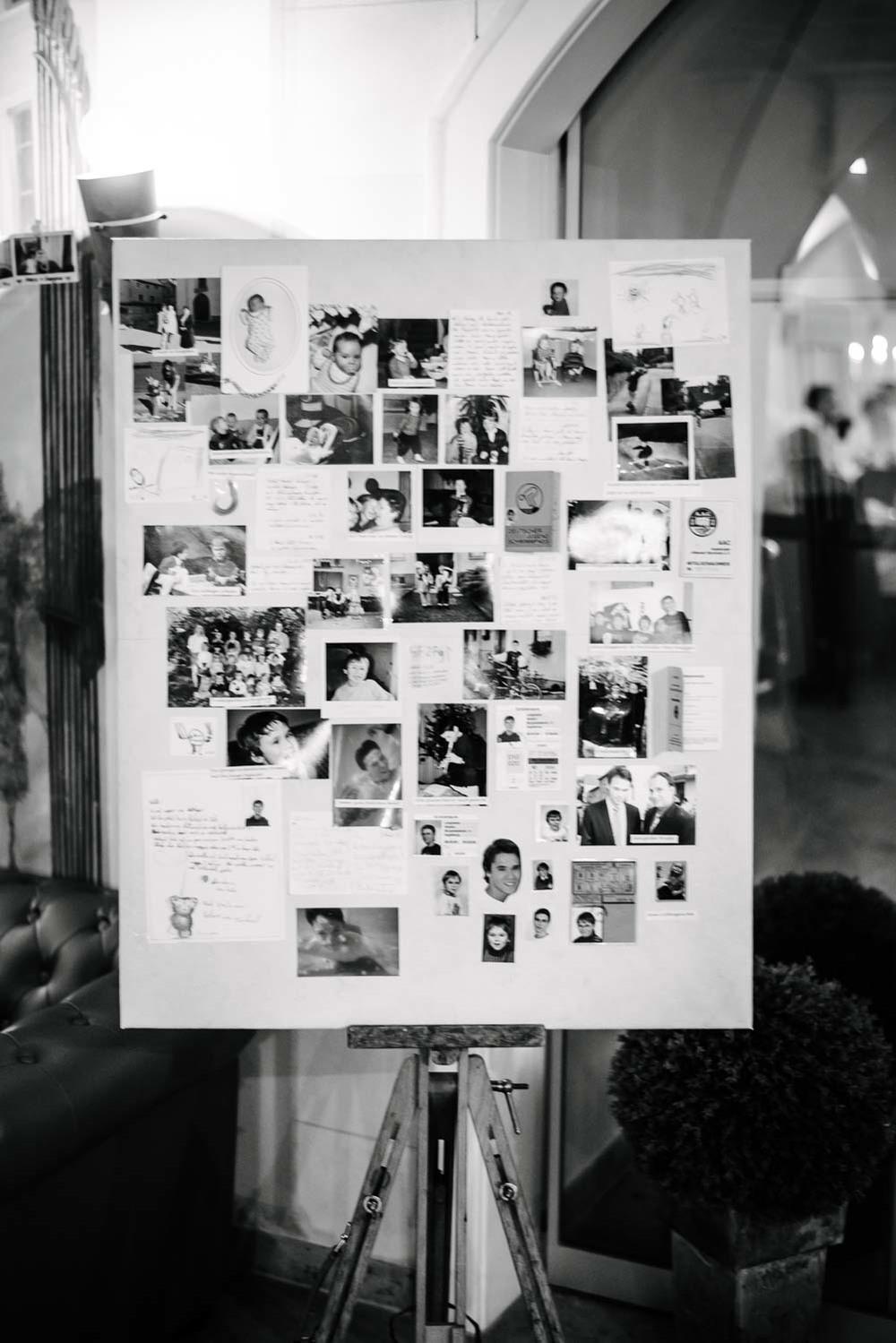 Pinwand Polaroid Detail Hochzeit Rostocker Fotograf in Augsburg