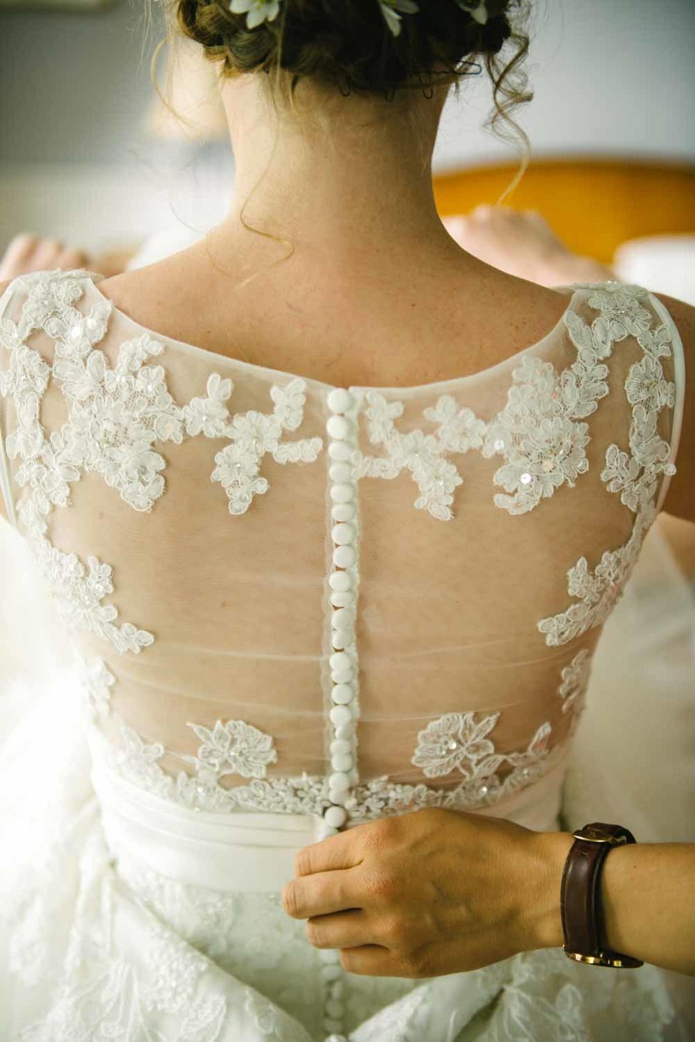 Brautkleid Rücken