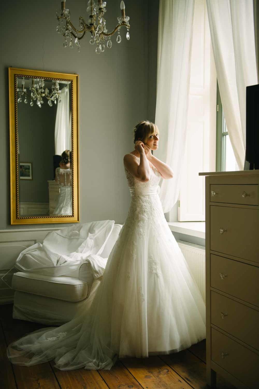 Vorbereitungen Getting Ready Wedding Hochzeit Rittergut Nustrow Details