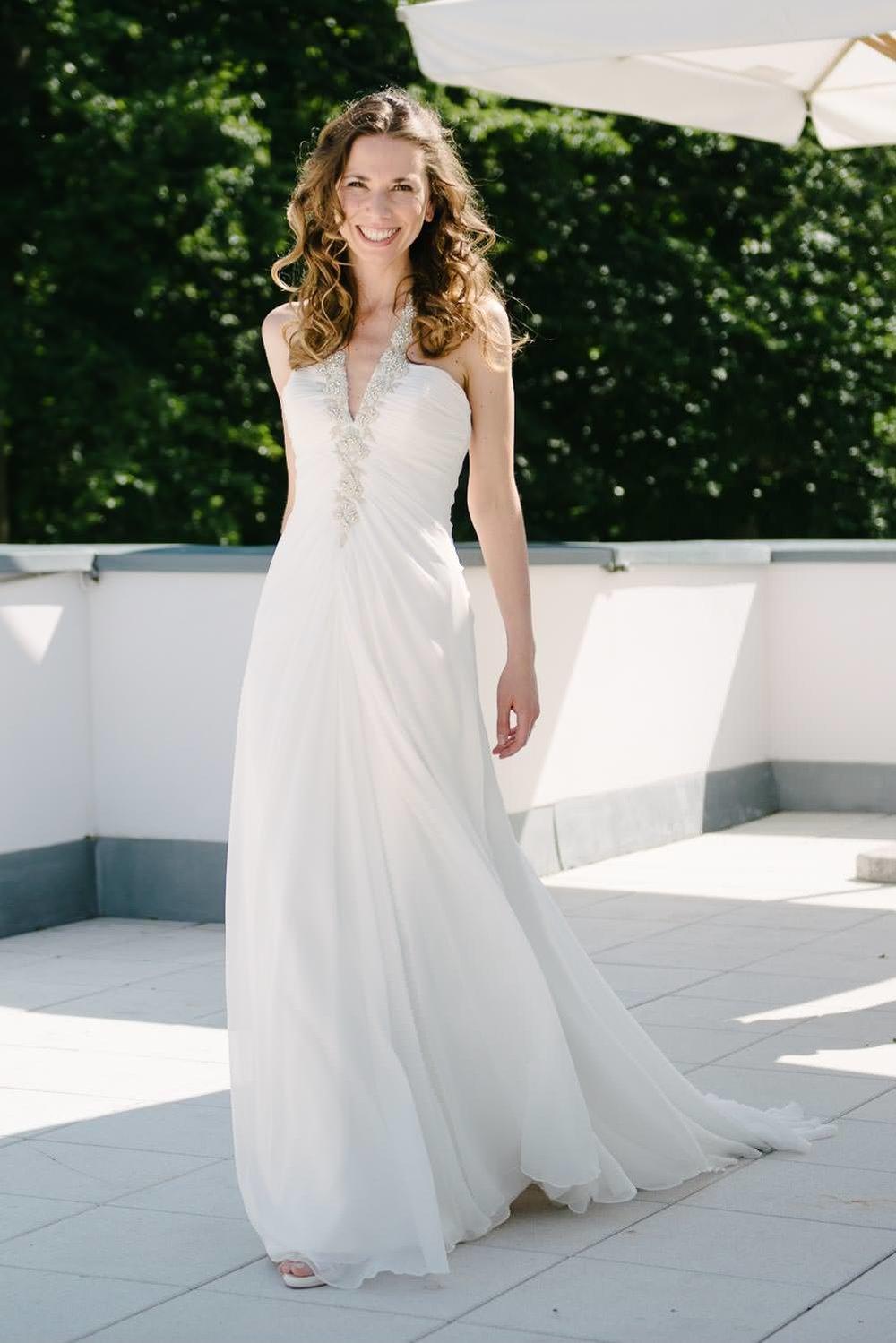 natürliches Braut Portrait Hochzeit Wedding Grand Hotel Heilige