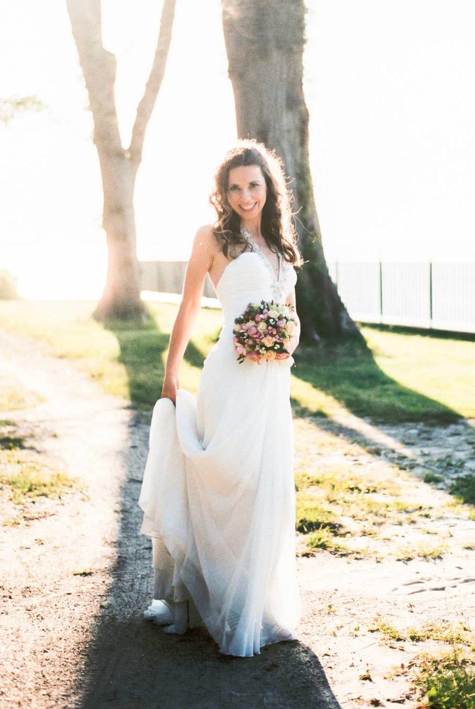 Braut Kleid Bride Hochzeit Wedding Grand Hotel Heiligendamm