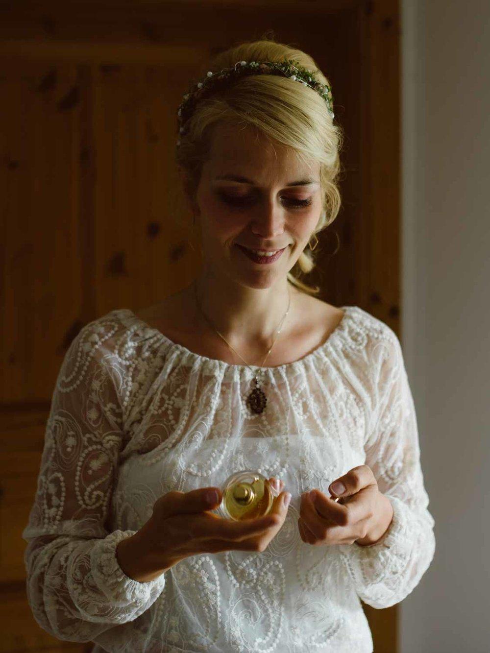 Brautvorbereitungen hochzeit Gutshaus Klein Nienhagen