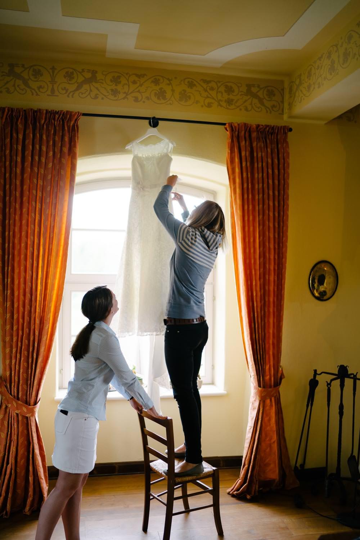 Brautvorbereitungen Ulrichshusen