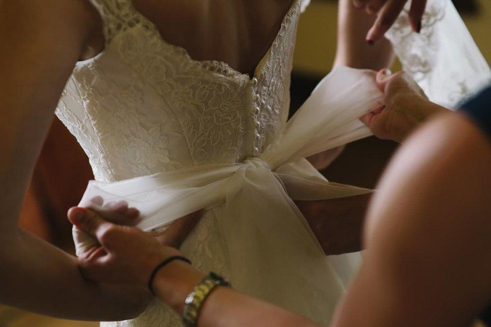Hochzeitskleid Schloss Ulrichshusen