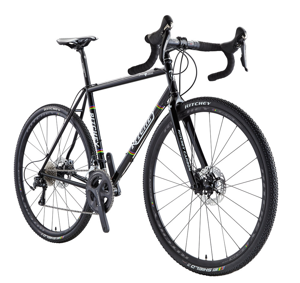 Swiss Cross Disc - The Swiss Cross Disc is a Ritchey Bike for CX, for smashing through mud and trails, getting dirty and having fun in the countryside.It comes equipped with Shimano Ultegra drivetrain and handbuilt Ritchey Wheels.