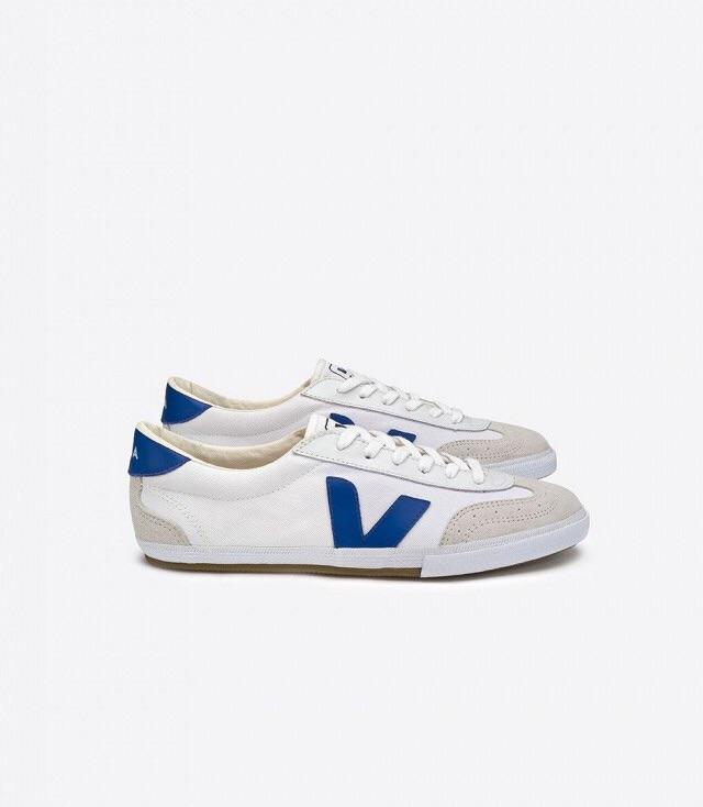 Veja sneaker ($100)      www.veja-store.com/en/men/1530-taua-white-pekin.html