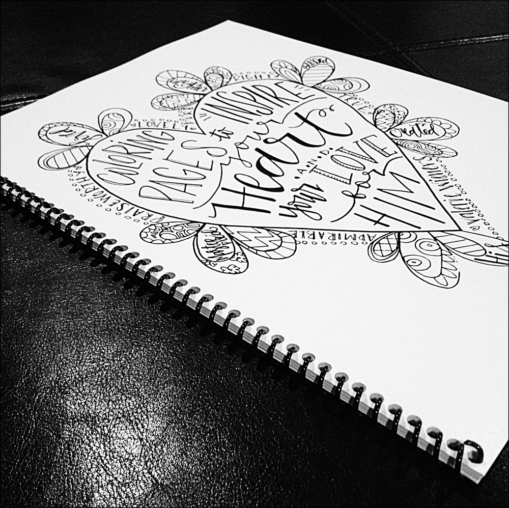Girls Coloring Book