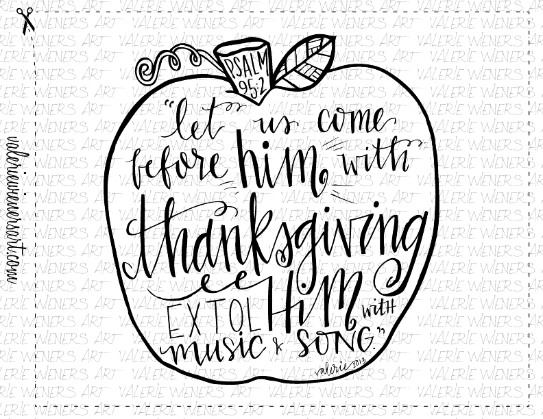 Just added new fall thanksgiving instant printables for Christian fall coloring pages