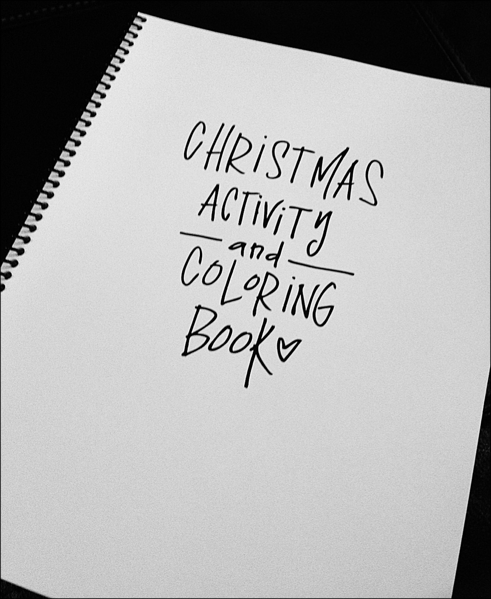 this 8 12 x 11 bound christmas coloring book is a collection of all my current hand drawn one of a kind christmas coloring pages
