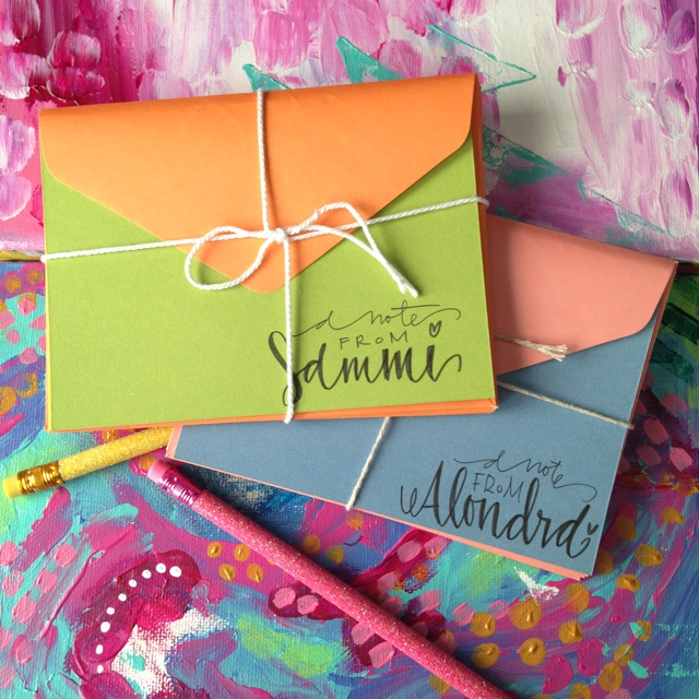 Personalized note-cards