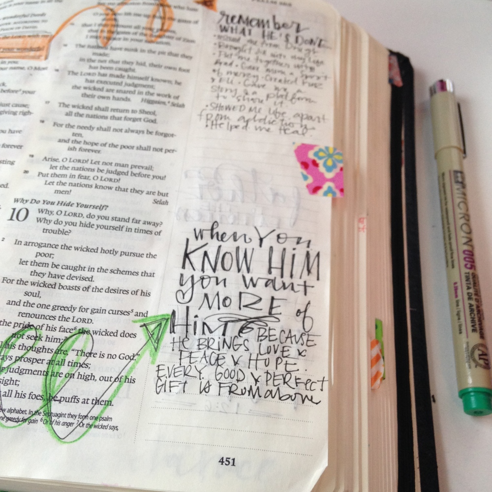 Bible journaling what i 39 ve learned and what i use for Decorated bible