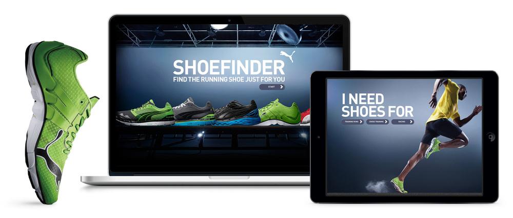 PUMA Shoe Finder — Khristine Valdez