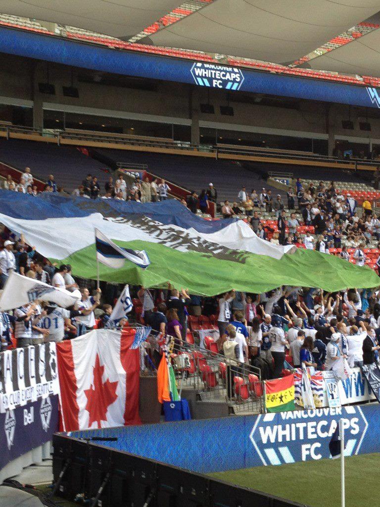 Vancouver WhiteCaps Cascadia Flag