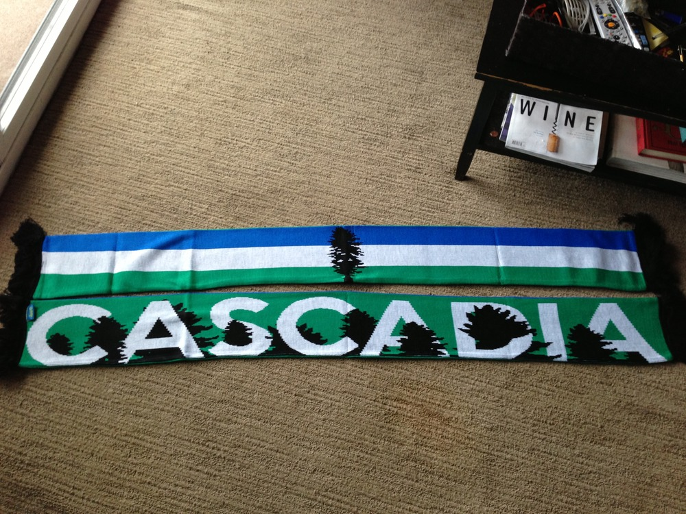 Cascadia Scarf Doug Flag