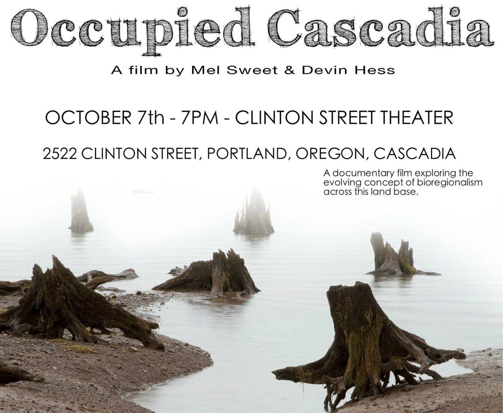 Occupied Cascadia Poster