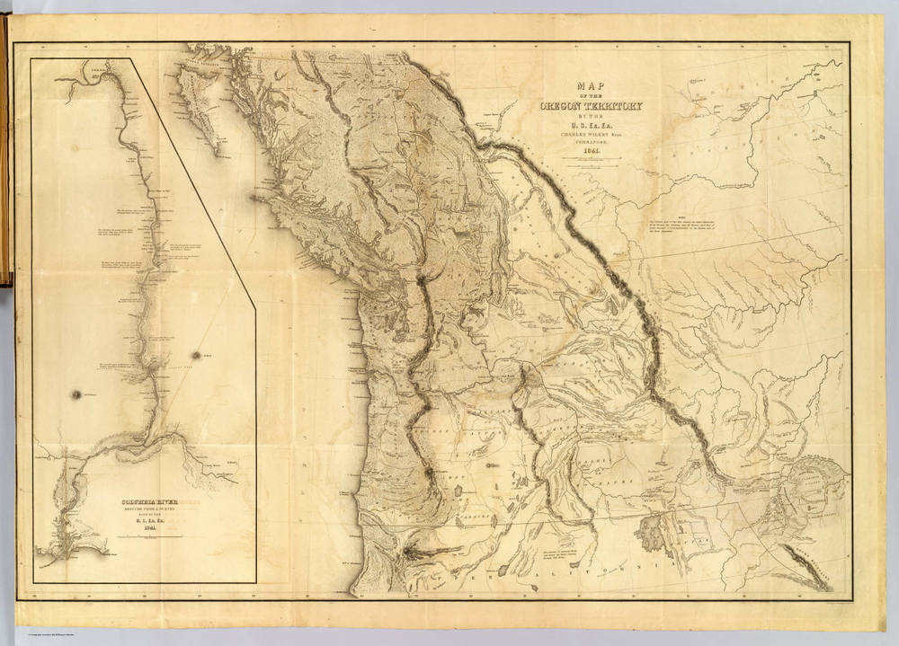 1841 Wilkes Expedition to the Pacific Northwest Cascadia