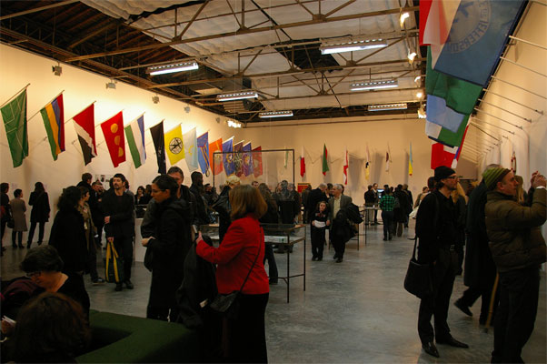 Picture from the Grow Your Own exhibit at Palais de Tokyo in Paris, France in 2007.