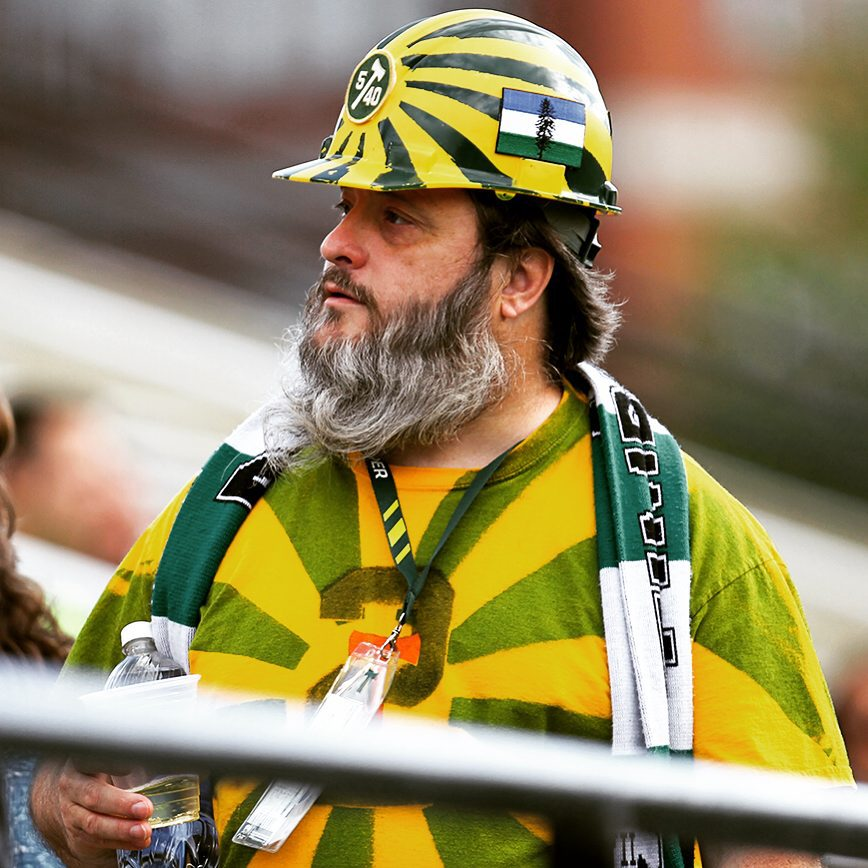Awesome Cascadia Timbers Supporter