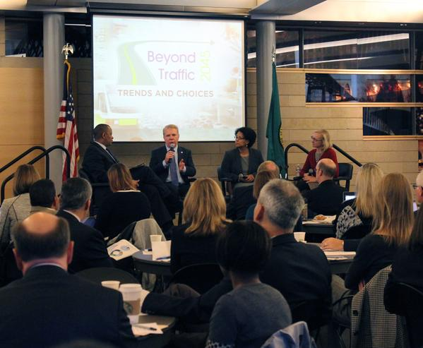The Seattle forum was part of a larger tour to hear from civic and community leaders aro to take our country #beyondtransit.