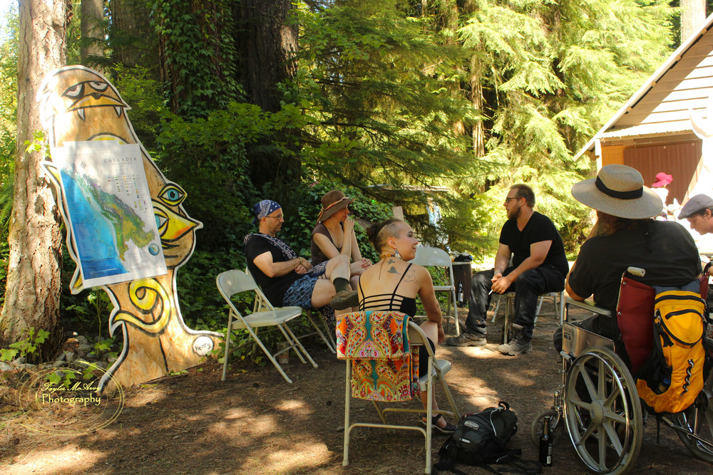 People of all backgrounds came together at the festival to learn about the history of the Cascadia bio-region and what Cascadia means to them as a culture.