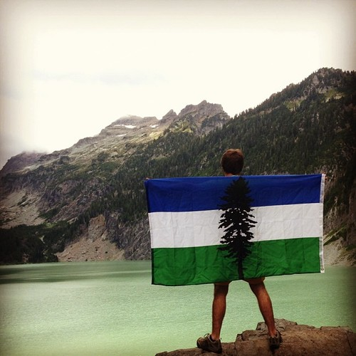 Visit our store at  https://www.cascadianow.org/swag  to purchase a flag!