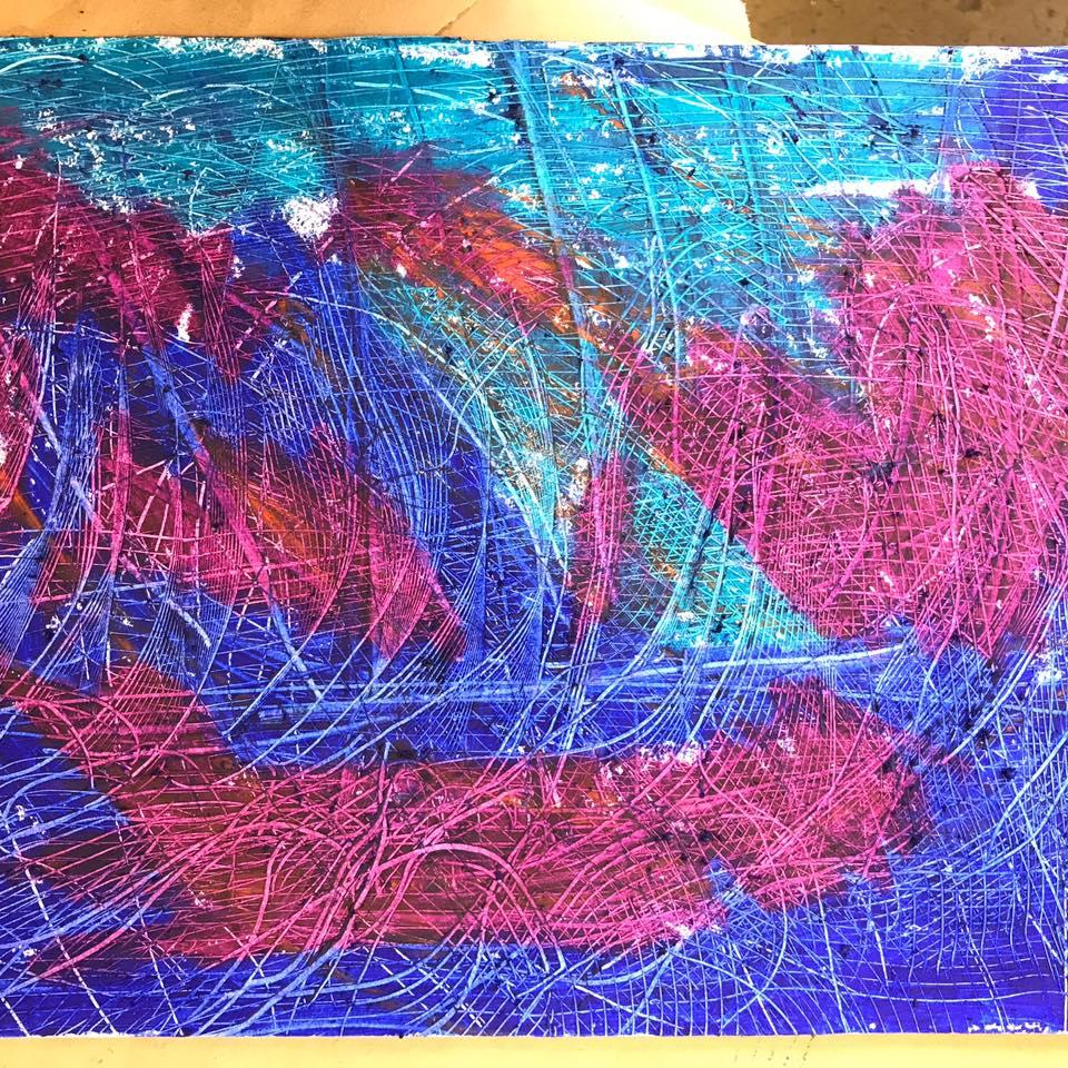 Auction Sneak Peak: Art donated by a Vibrant Palette Arts Center artist!