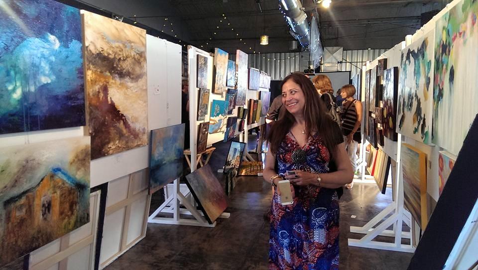 Splash Art Market @ the Wildrose Brewery 2015