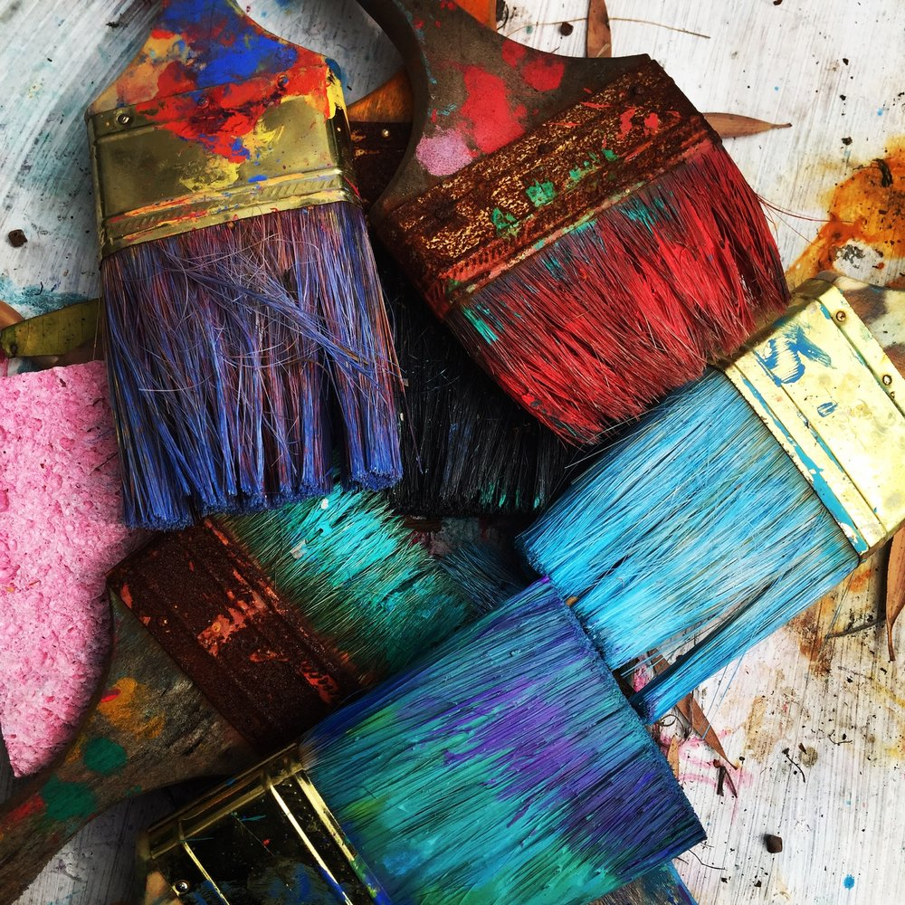 ONE DAY. Abstract painting class - Brush up on your abstract painting skills. Learn, in a relaxed environment, how to create the artwork you'd like to create.