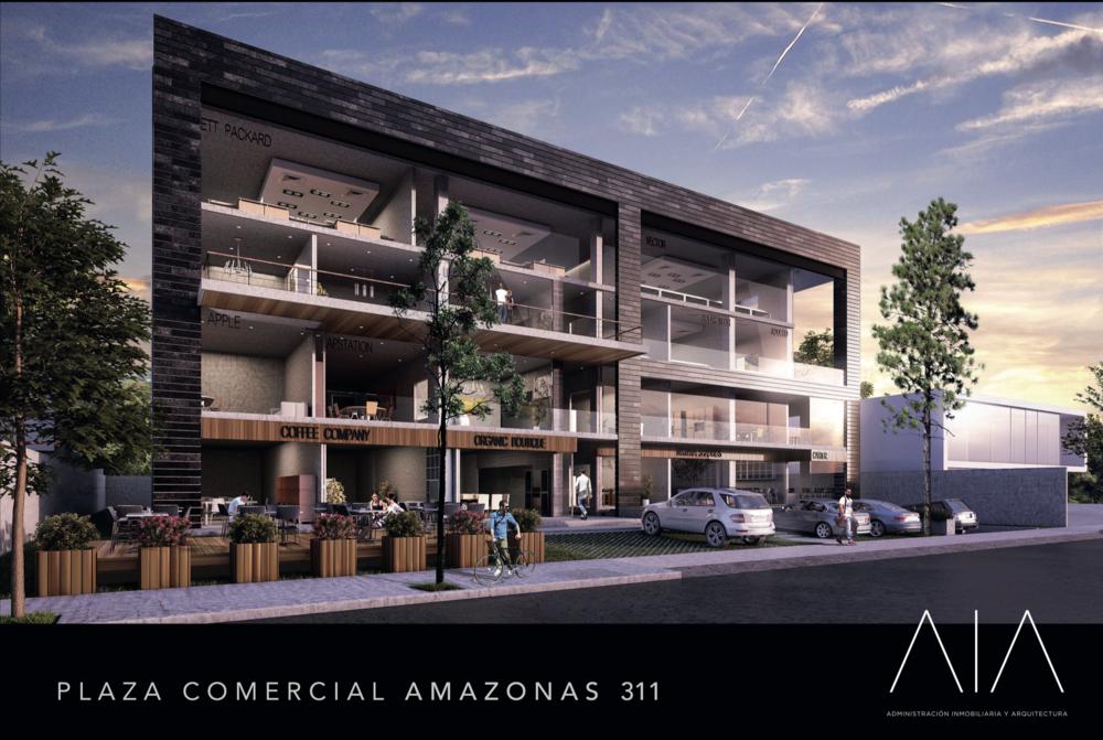 Render de una de las nuevas plazas comerciales en Centrito Valle.