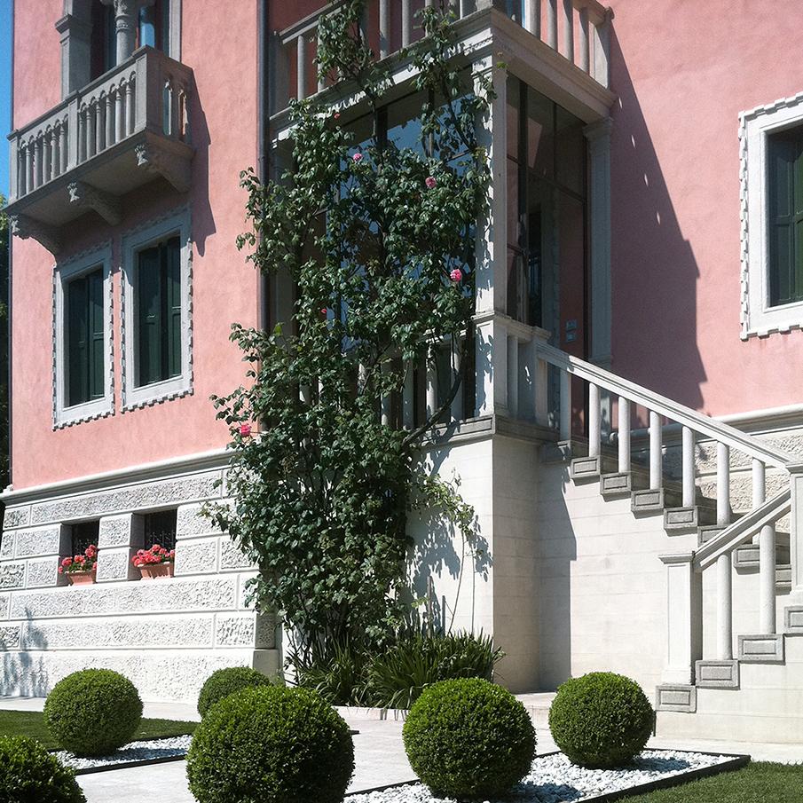 neo-gothic villa