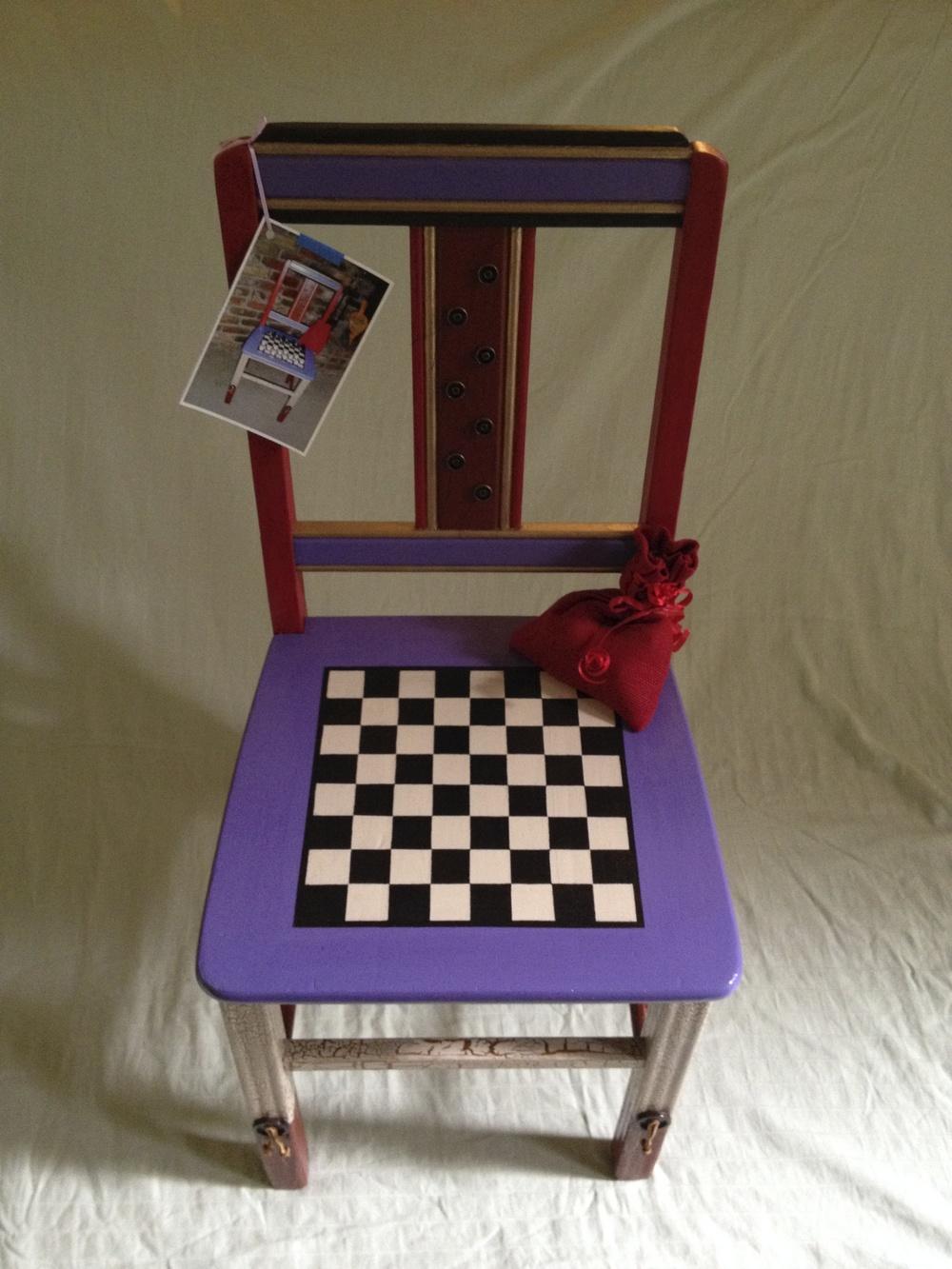 Checkers-Sandra Fleischman.jpg
